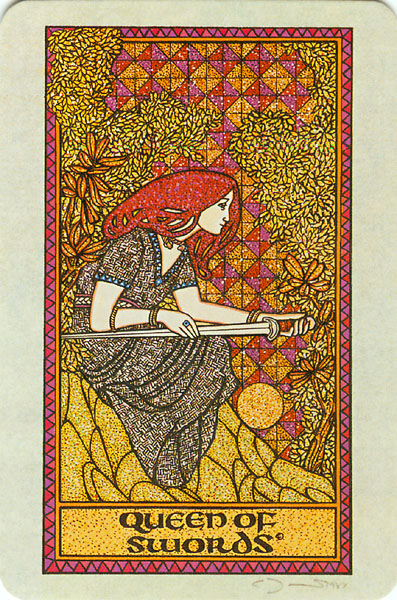 A Carta Do Tarô Que Rege A Semana: Rainha De Espadas